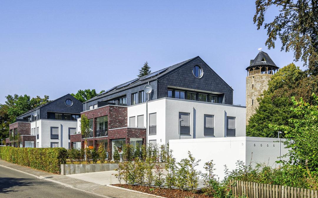 Modernes Wohnen in Siedlerhausarchitektur